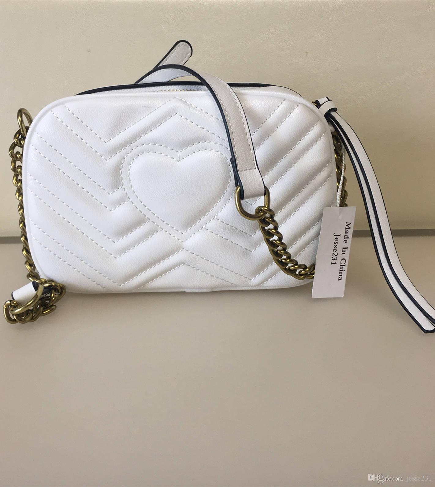 Modo di alta qualità delle donne borse famoso oro Borse catena della spalla Crossbody Bag Soho Disco Shoulder Bag Purse Wallet 21 centimetri