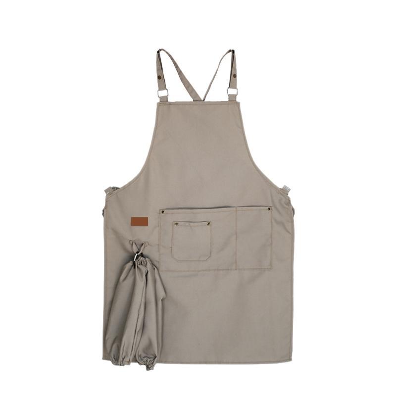 Nova Unisex Aventais Mulheres Homens ajustáveis Avental para cozinhar Baking Restaurante Culinária mangas Aventais Outros Housekeeping organizat
