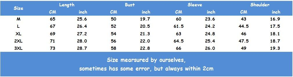 Spring Autumn Designer Brand Mens Woemens Jackets Fashion Casual Long Sleeve Blouse Tops 3 Color High Quality Jackets Size M-4XL B100129Q