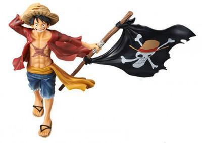 NUEVO 15-22 cm One Piece FRANKY Eustass Kid Buggy BROOK Luffy figura de acción juguetes muñeca regalo de Navidad con caja