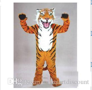 2020 Factory hot sale tiger Mascot Costume Adult Size Cartoon Character Carnival Party Outfit Suit Fancy Dress