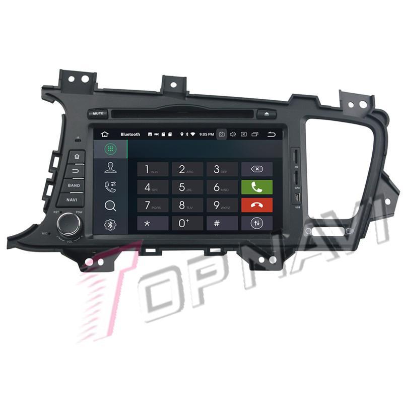 2019 Topnavi Android 9 0 Car DVD Media Center CD Player For Kia K5/OPTIMA  2011 2012 2013 Audio Radio Stereo Double DIN GPS Navigation From Niumou,