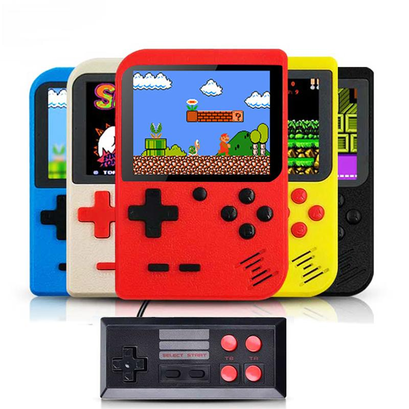 Portable Handheld Game Players Retro Console 400 Games Support 2 Player 8-Bit 3.0 Inch for Child Gift