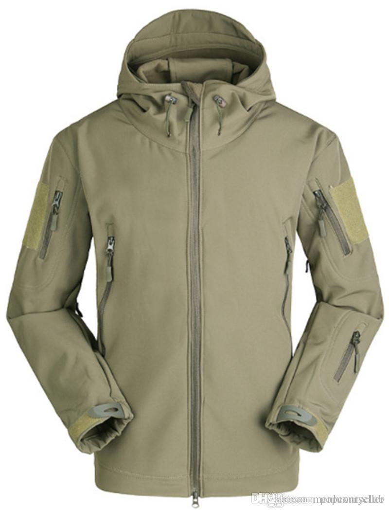 Erkek Moda Tasarımcısı ceketler Uzun Kol Kapşonlu Yumuşak ve Rahat Kamuflaj Ceket Erkek Yeni Düzenli Giyim