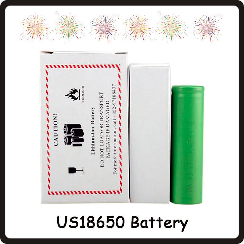 Top Quality VTC4 VTC5 VTC5A VTC6 VTC6A 3000mAh 2600mAh 2100mAh 18650 Battery ECig Mod Rechargeable Li-ion Battery Fedex
