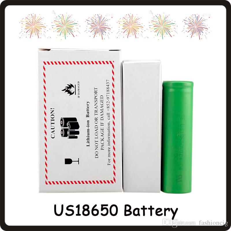 Alta qualità VTC4 VTC5 VTC5A VTC6 VTC6A 3000mAh 2600mAh 2100mAh 18650 Batteria ECig Mod Batteria ricaricabile agli ioni di litio Fedex