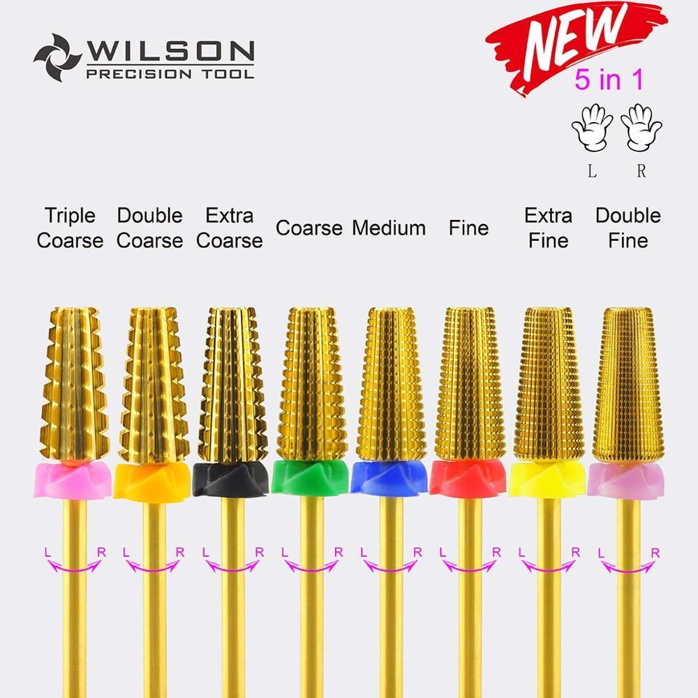 5 em 1 (os acrílicos ou os géis os mais rápidos removem) - broca do prego do Carbide de WILSON