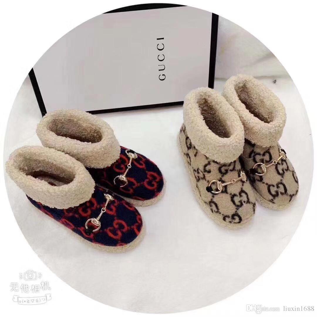 2019 новый высококачественный малыш обувь Мода согреться нескользящая удобная 110613