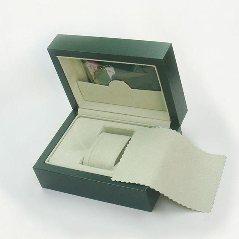 Haute qualité luxe Hommes Montres-bracelets montre originale Boîte de papier intérieur extérieur livret carte coffrets cadeaux montre homme Montres