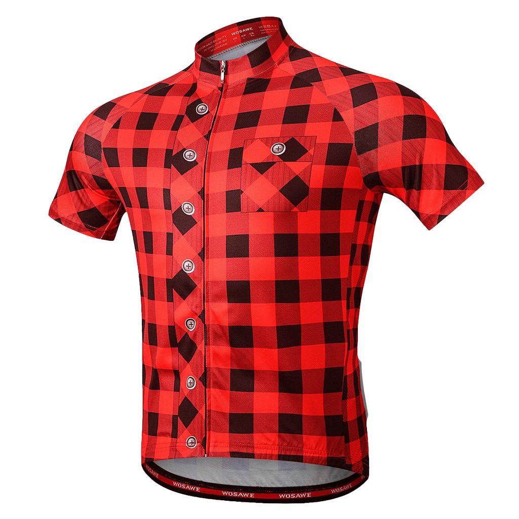Men's Women's Short Sleeve Cycling Clothing Jerseys Tops for Outdoor Sports MTB Bike Biking T Shirt Sportswear Clothing