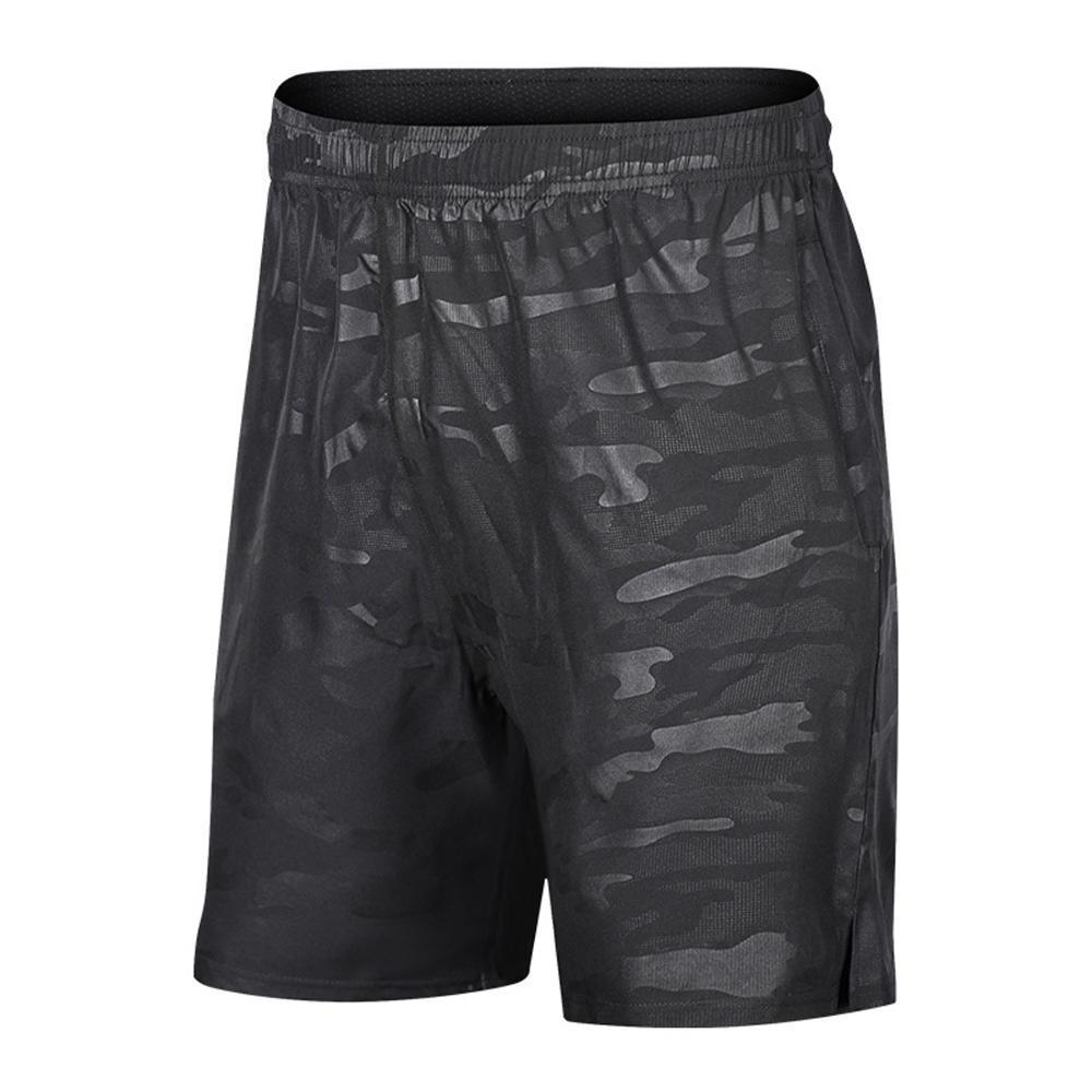 Shorts hommes de Pantalon Court Camouflage doux D'été À Séchage rapide Taille élastique Plage Shorts Hommes De Mode Sportwear pour Gym Hommes T200422