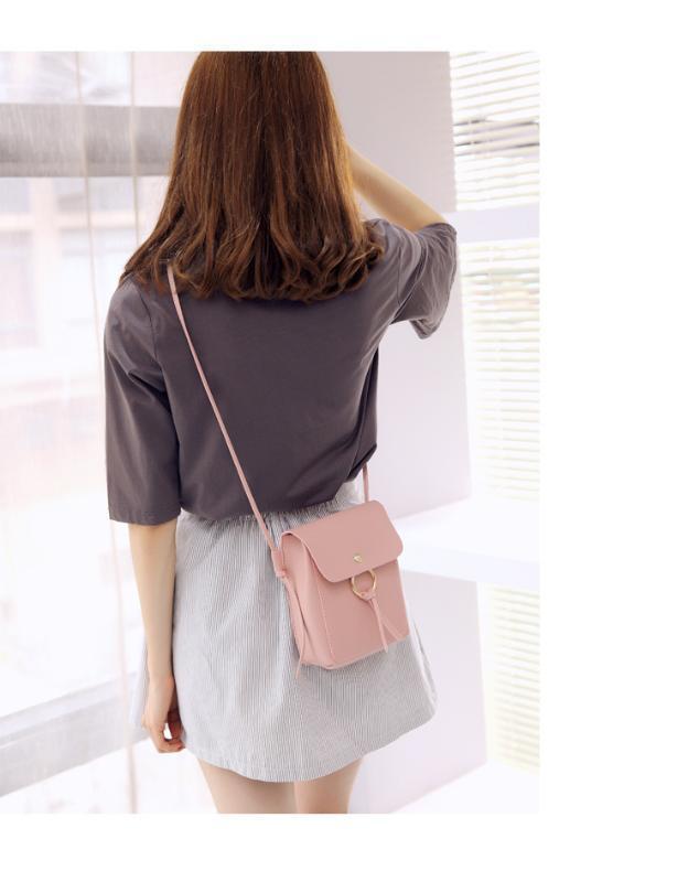 2020 nueva bolsa de hombro bolsa de teléfono móvil de gran capacidad pequeña ocasional del mensajero del hombro de Corea de las mujeres