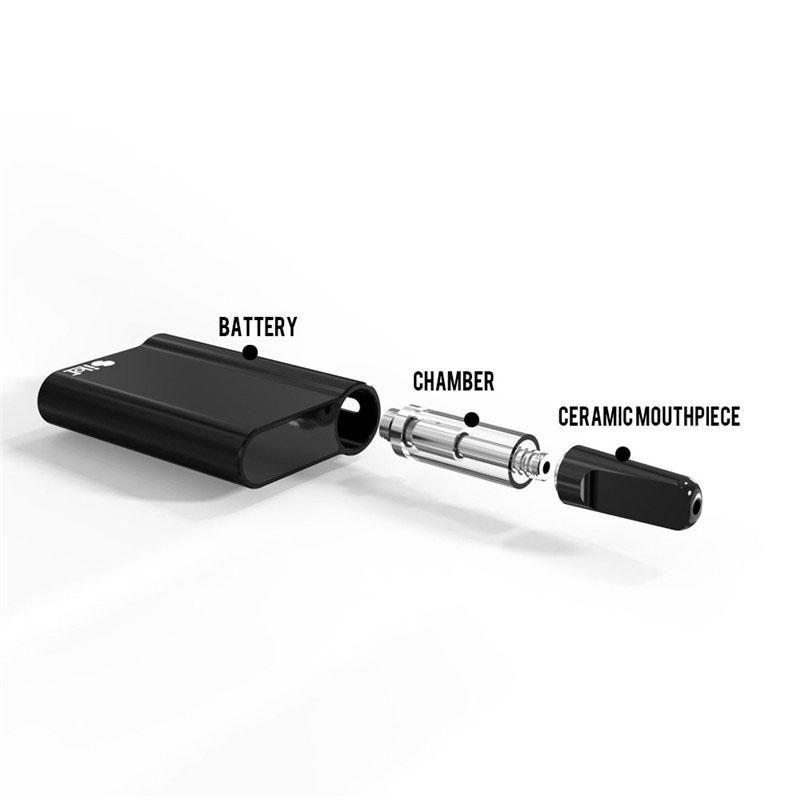New Arrival Silot 510 Battery Mod Vaporizer Capacity Ceramic Rod Coil  Cartridge Smoking Device Battery Auto Draw Vape Pen ECigs Electric Kits