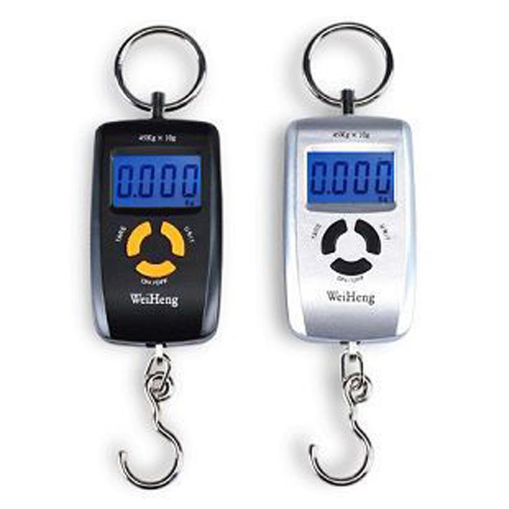 45kg Digital mini Electronic Luggage Scale Black Portable Kitchen Weight Balance