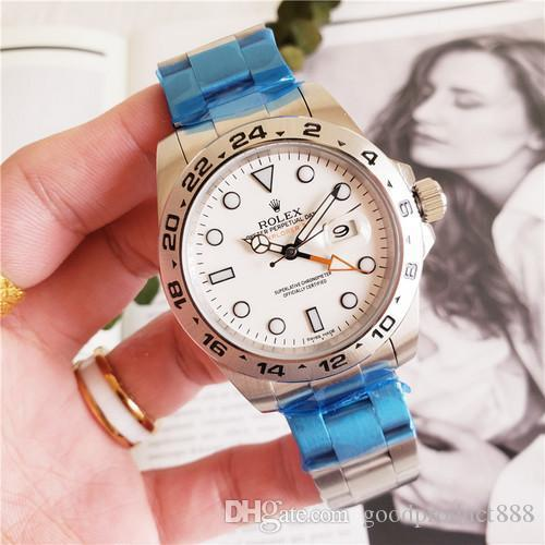 Hot quality luxury watch 42mm 216570 White black dial Automatic watch crystal Ceramic bezel 2813 movement men watches