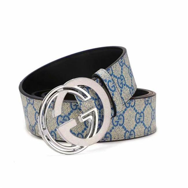 Fashion Stripe Pattern Big Buckle Men Designer And European Style G waistband High Quality Real Leather A Women & # 039;s. Belt