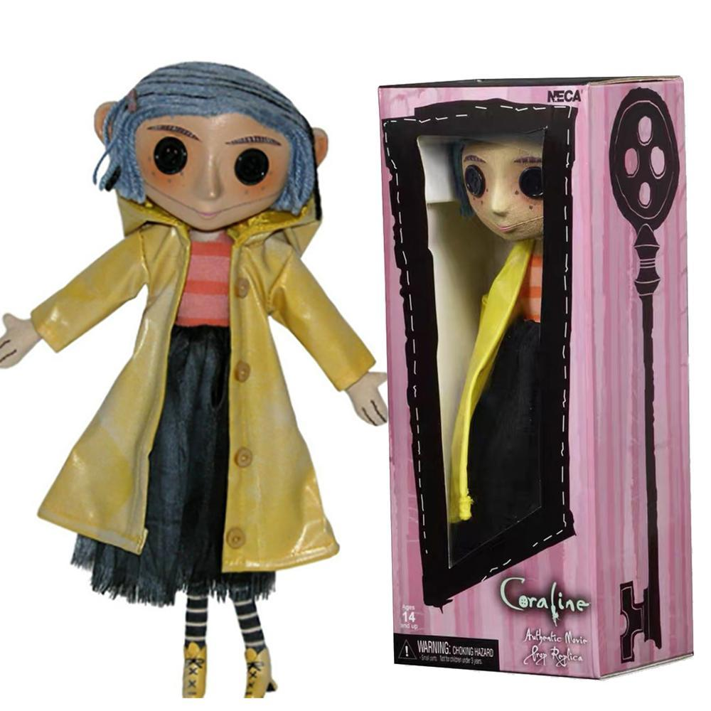 Neca Figure Coraline Doll The Secret Door Coraline Y La Puerta Secreta With Raincoat Coraline Action Figure Toys Collection Gift Paper Finger Puppets For Kids Finger Puppets Templates From Jokerstore 55 82 Dhgate Com