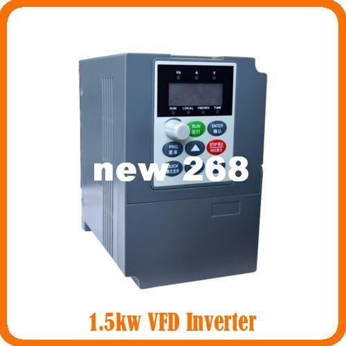 Freeshipping 3 phase 380V 1.5KW Frequency Inverter - -Vector Control Frequency inverter 1.5KW/ Vfd 1.5kw vector