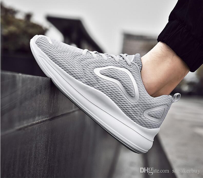 Sıcak Satış 2020 bahar yeni erkek ayakkabıları eğilim gündelik spor ayakkabı deri sınır ötesi patlayıcı erkek koşu ayakkabıları üreticileri