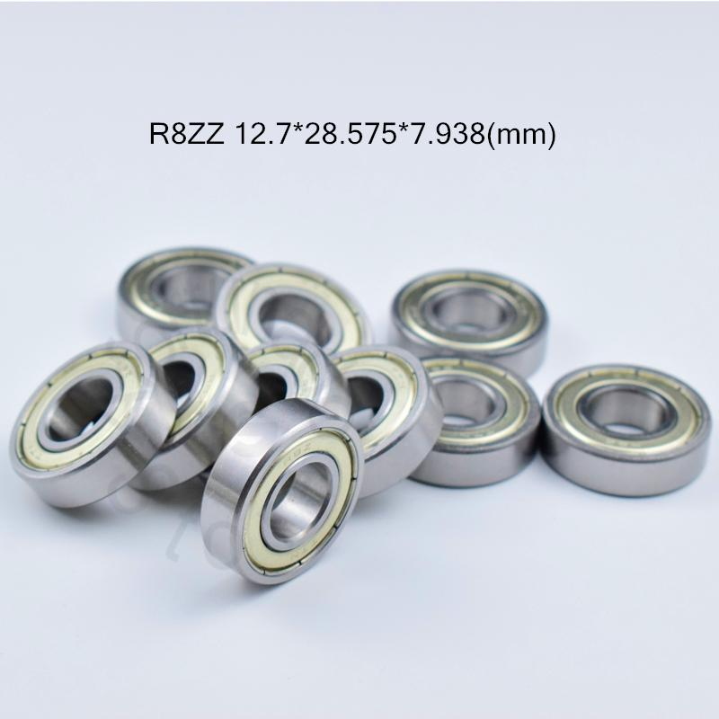 "10 QTY R8-ZZ Metal Sealed Deep Groove Ball Bearings 1//2/"" x 1-1//8/"" x 5//16/"""