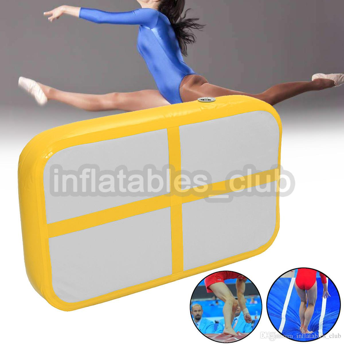 Free Shipping Inflatable Air Board For Sale DWF 1*0.6*0.1m Airtrack For Gym Mini Size Air Track Mat Cheap Price Home Use Air Track Mats