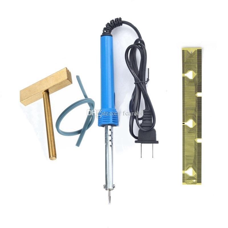 Fcarobd per BMW Pixel Repair Tool Cavo a nastro per BMW E38 E39 E53 X5 Quadro strumenti con saldatore T-tip Cavo in gomma blu