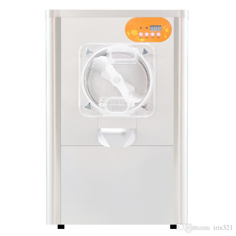 Machine commerciale commerciale de boule de neige de machine de crème glacée dure d'acier inoxydable 304 de crème glacée dure de 220V 1300W