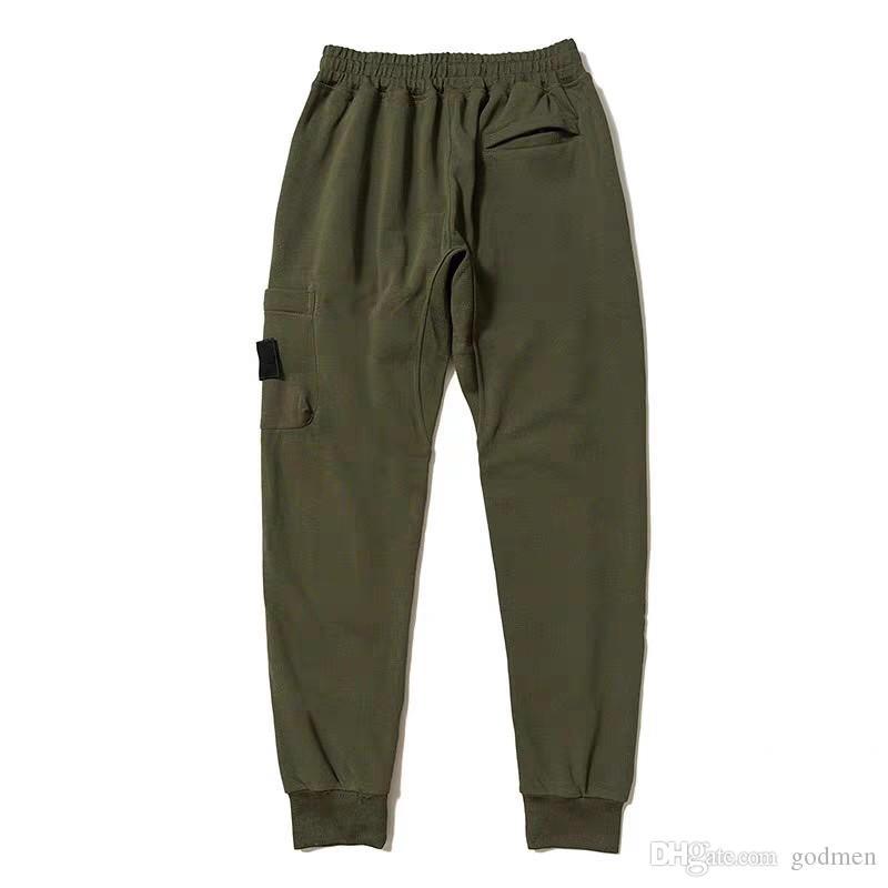 Hommes Styliste Pantalon style décontracté Hot vente Pantalons Hommes Joggers Suivre Pantalon cargo Pantalon de survêtement Pantalon taille élastique Harem Taille M-XXL