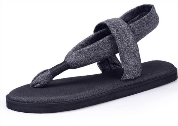2019 New Arrivals Plus Size 42 Summer Women Casual Sandals Shoes Outdoor Breathable Simple Yoga Sling 2 Flip Flops Girls Casual Slide Shoes