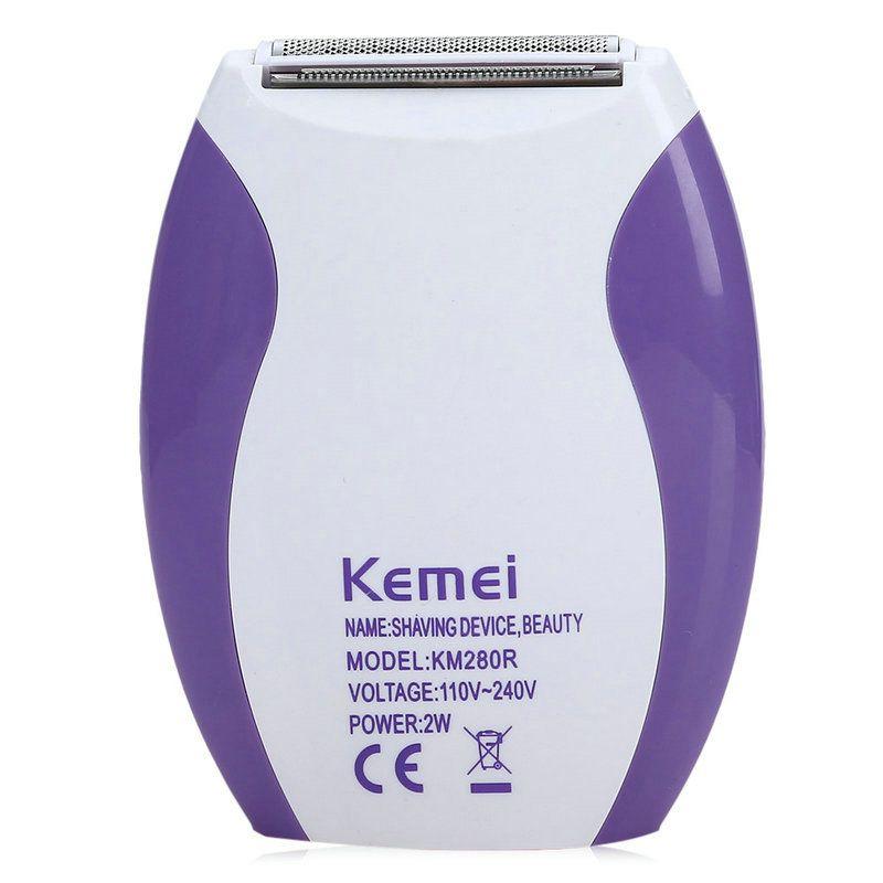 Women Kemei 280R Epilator Washable Electronic Razor Face Body Hair Removal Lady Shaver Armpit Arm Leg Bikini Underarm Epilator GOezy