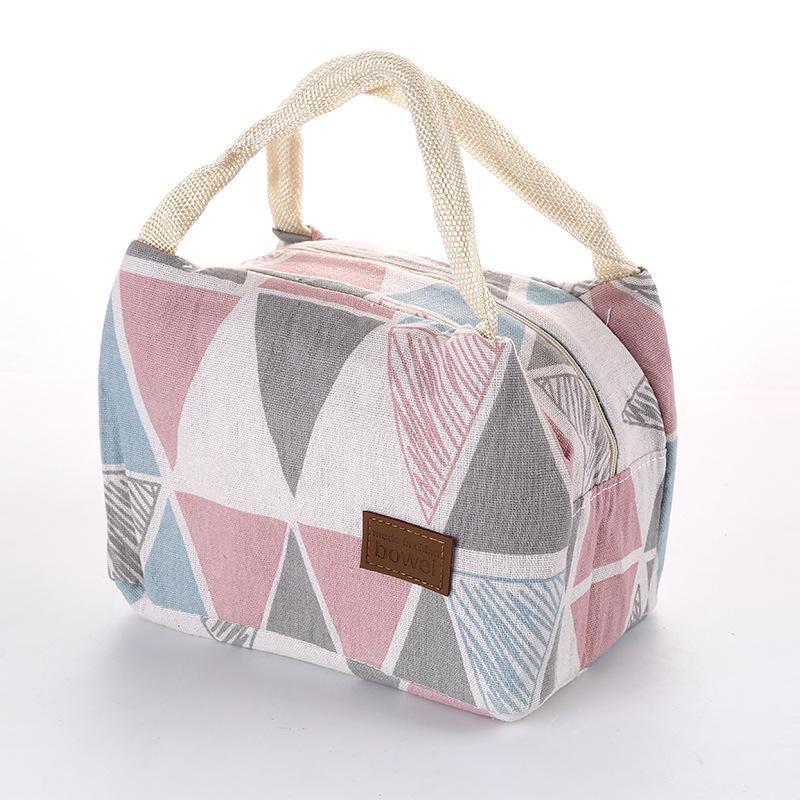 borsa donne uomini lunch box Student signore sacchetto di picnic dell'isolamento del ghiaccio impermeabile pacchetto di calore Conservazione Bag