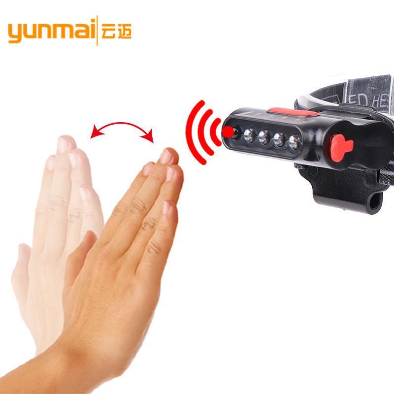 Пересечь границу нового образца USB зарядка индукционная мини - светильник крышки встроенная батарея светодиодный свет пластиковой крышкой патрон лампы