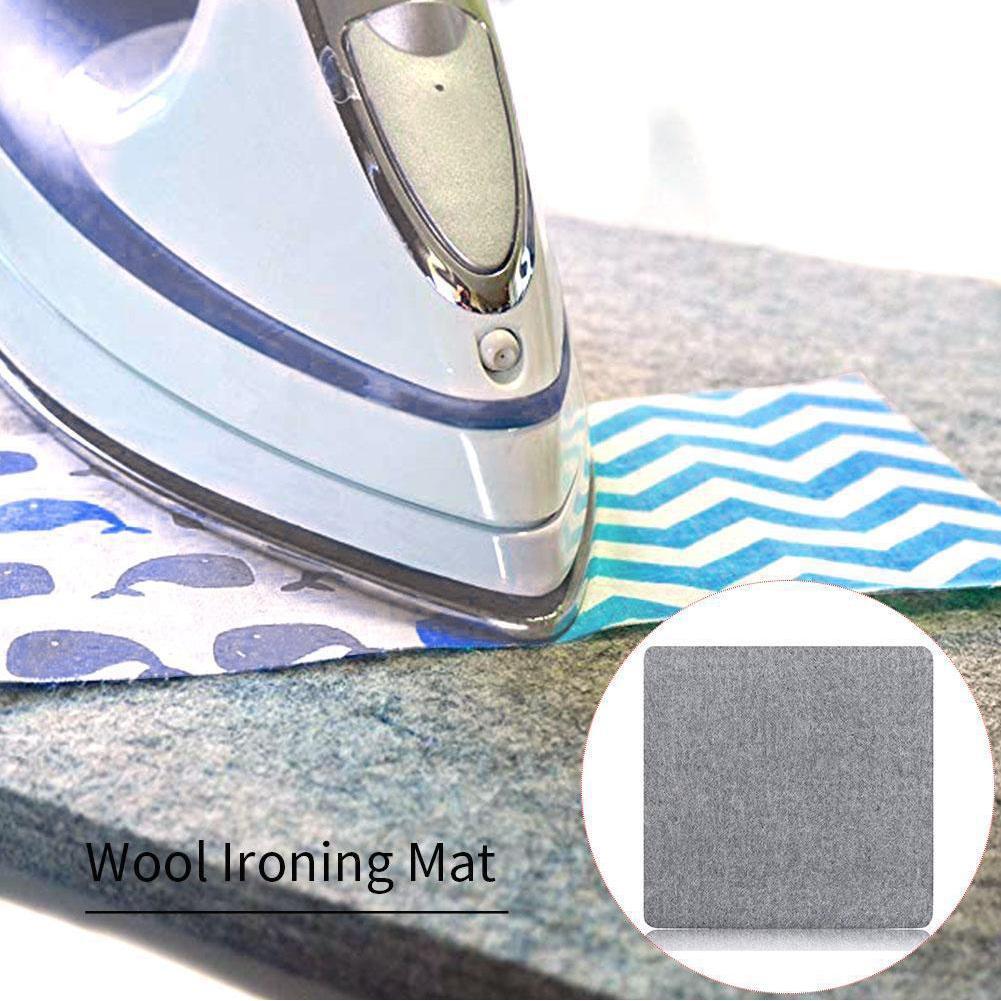 Lã Pressionando Mat engomadoria Pad High Temperature tábua de engomar Felt Imprensa Mat para Home S55