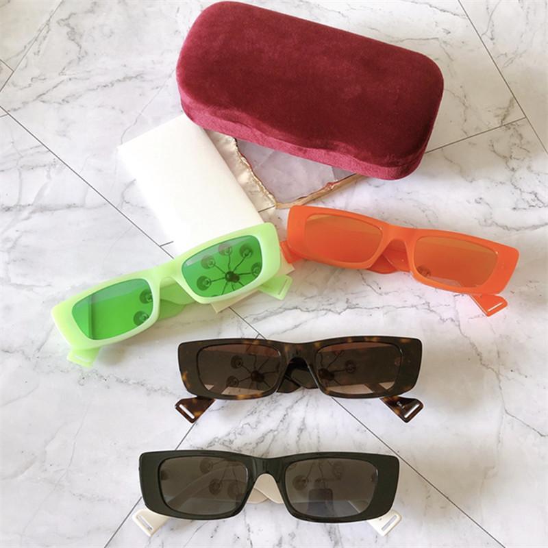 Superb einzelnen Euro-Am Fashion GG0516S Sonnenbrille Unisex UV400 52-20-145 intelligente Grenzen rechteckig Macaron Plank Vollrand- fullset Fall