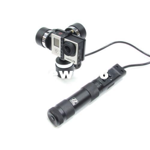 Freeshipping Zhiyun Z1-Rider 3-Axis Portable Handheld BL Steady Gimbal for Gopro Hero3 3+ 4 SJ4000