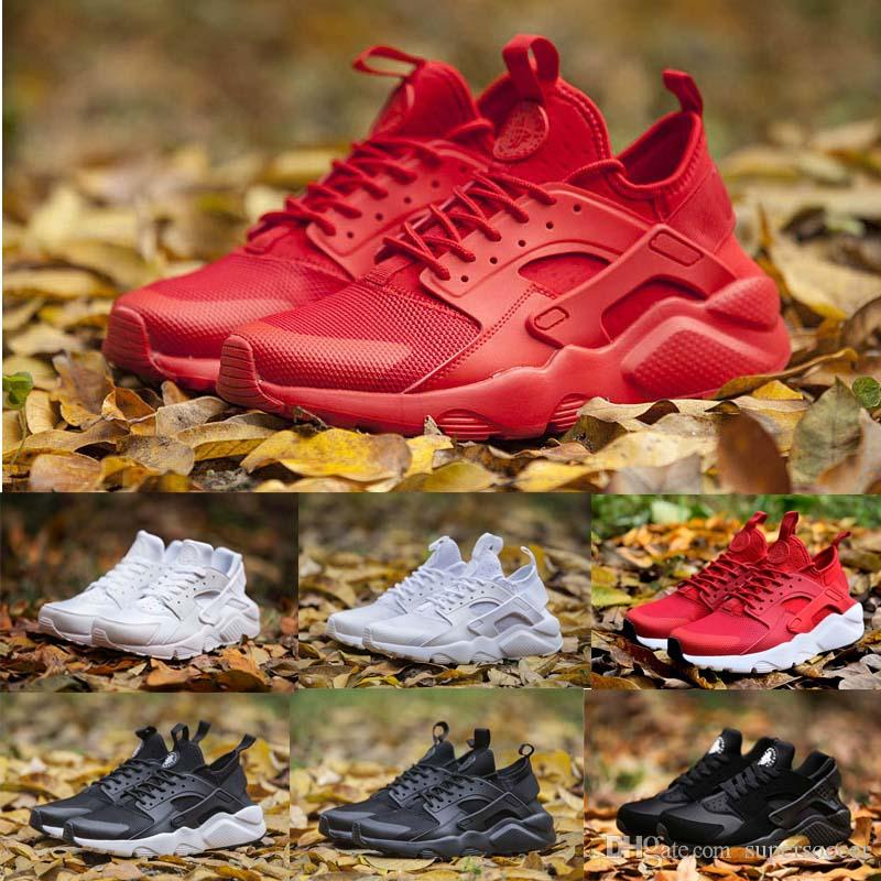 Novo Huarache Running Shoes para Mulheres Homens Leve Huaraches Sneakers Atletismo Esportes Ao Ar Livre Huarache Sapatos