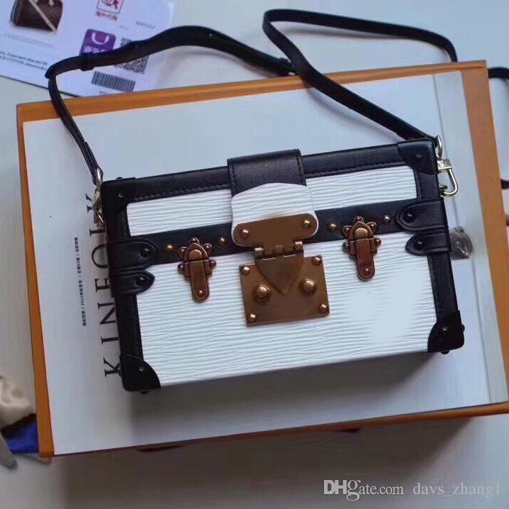 5A New Petite Malle роскоши модельер Сумка глобального Limited Edition человек дизайнер роскошь Посланник сумка кожа: M94219-2