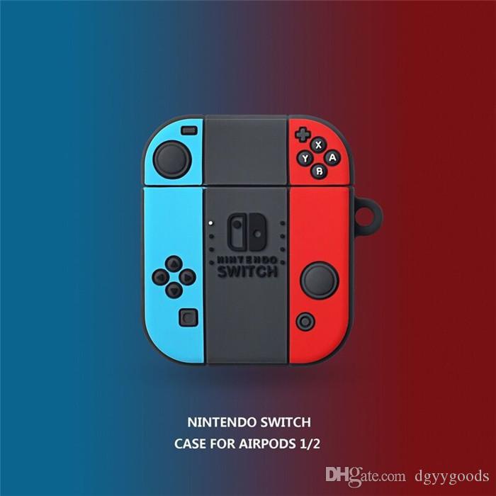 الإبداعية لعبة وحدة التبديل AirPodsPro الغطاء الواقي 2/3 أبل الجيل بلوتوث اللاسلكية سماعة غطاء لل