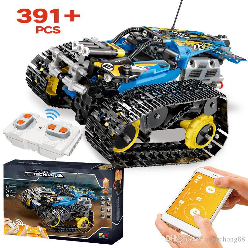 Creator App Remote Control Car Bricks For Legoingly Technic Rc Tracked Racer Model Building Blocks Toys For Children Gift Fastest Rc Car Remote Control Toy Cars From Qengchong88 9 05 Dhgate Com
