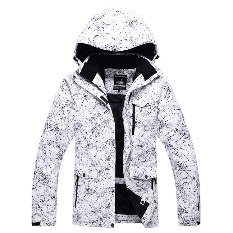 2020 New Thicken Warm Ski Suit Men Women Winter Windproof ...