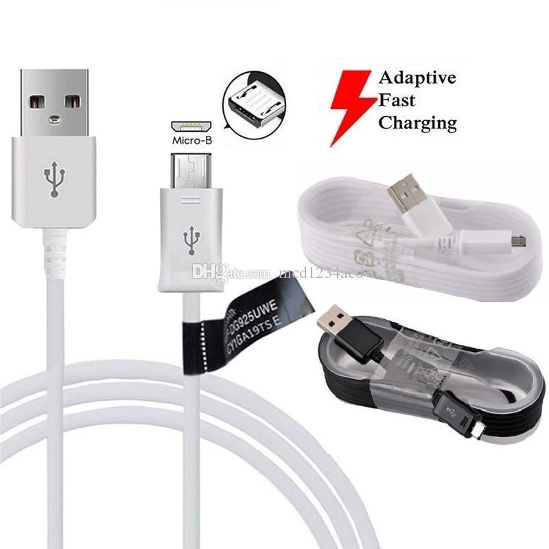 1.5m 5FT Micro-USB-Kabel mit Aufkleber V8 5pin USB-Kabel für Samsung Galaxy s6 s7 s4 Anmerkung 2 4 htc lg Android-Handy