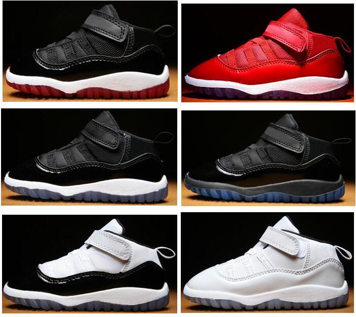 Baby 11s Gym Red Bred Concord Infant