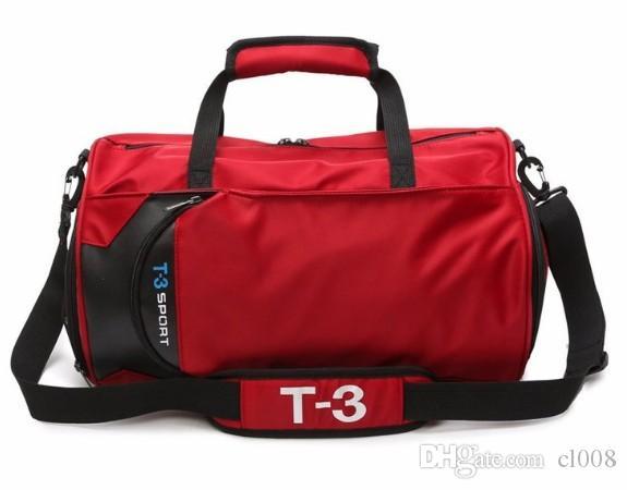 Caixa de caixas Independente e Sacos de esporte Designer 41cm de nylon largo com sacos sapato unisex Duffel Qualidade TKupe