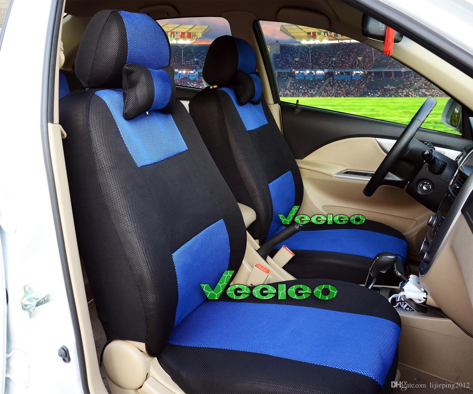 Sitzbezüge blau vorne KOS MAZDA 323
