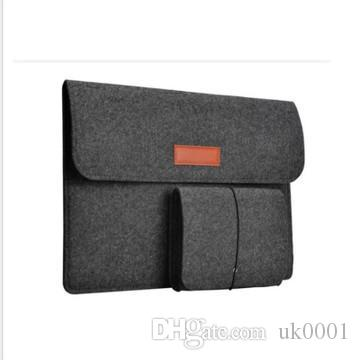 UK Notebook Laptop Bag 11 15 14 12 13.3-Inch Felt Sleeve Pouch Protective Cover Case for iPad MacBook Air Pro Retina Display Handbags