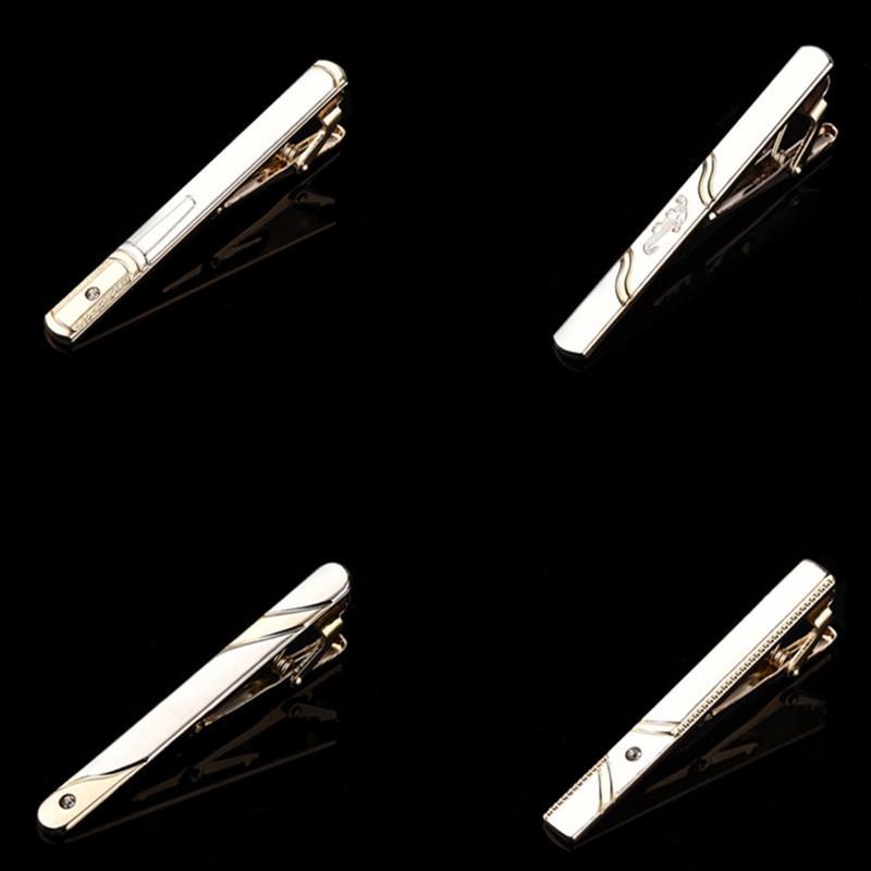 CityHitomi Hommes Pince À Cravate Nouvelle Conception De Mode En Métal Cravate Bar Élégante Cravate Clips Pin pour Hommes De Mariage VIP Lien Dropshipping C053