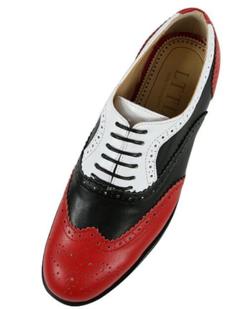Red Bottom Oxford Für Männer Größe 40-46 Klassische Mode Niedrigen Top Runde Kappe Schnüren Männer Kleid Schuhe Rot Leder Hochzeit Schuhe
