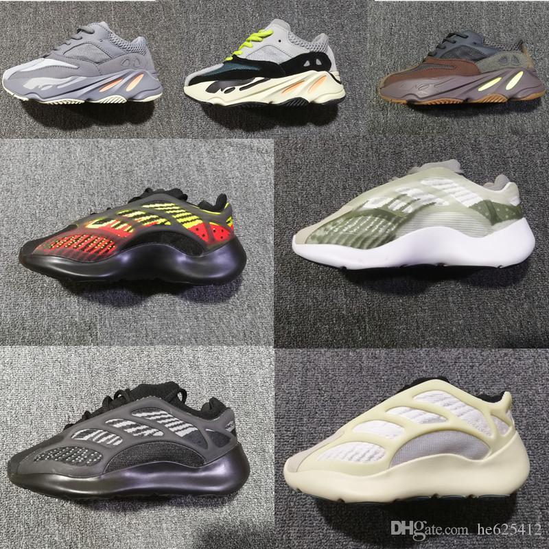 Baby 700s V2 V3 azael Child jogging shoes alvah boys and Girls Kanye jogging shoes