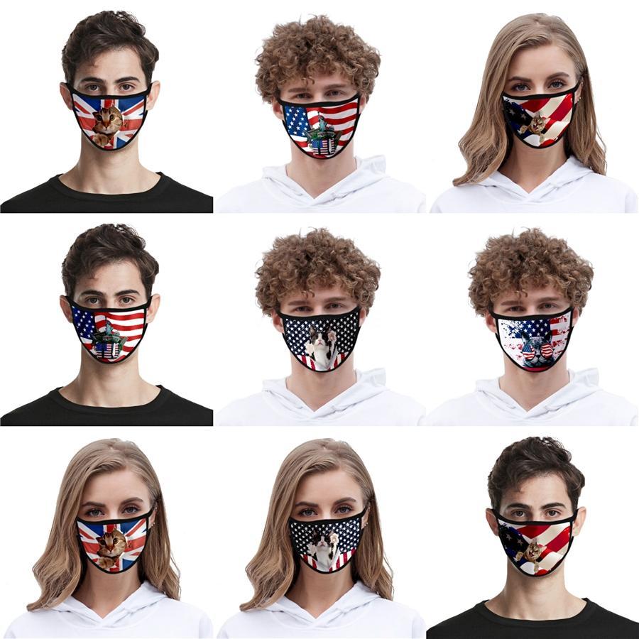 Seta Ice respirazione Valve maschera adulti antipolvere Maschere regolabile bambini riutilizzabile Bocca muffola Designer Mask 5 colori Cca12051 10000 1pc # QA58