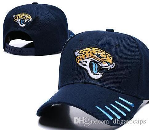 Wholesale Adjustable Jacksonville Snapback JAX Hats Outdoor Summer Men Basketball Cap Sun Visors Flat casquette Cheap Women Football Cap
